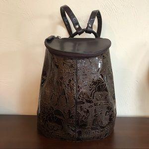 Handbags - Egyptian motif backpack.